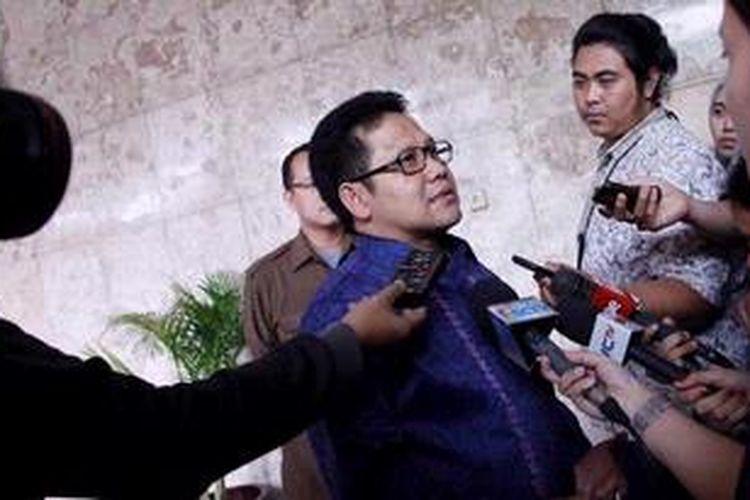 Menteri Tenaga Kerja dan Transmigrasi Muhaimin Iskandar