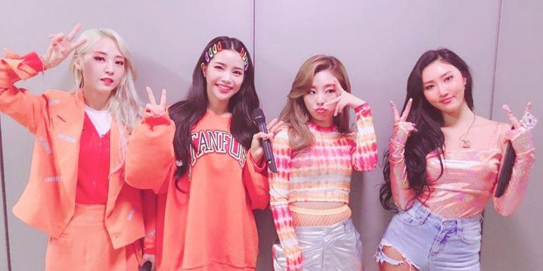 Girlband asal Korea Selatan, MAMAMOO.
