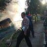 Sebuah Bus Terperosok ke Parit dan Terbakar di Lamongan, Tak Ada Korban Jiwa