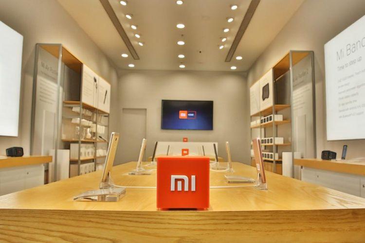 ilustrasi official store Xiaomi, Mi Store