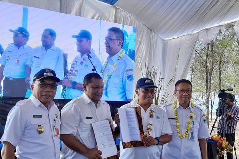 DKI Jakarta Olah Air Laut Jadi Air Bersih di Pulau Payung