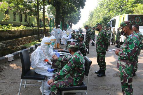 Pasien Positif Covid-19 Secapa AD Bandung Kini Tinggal 114 Orang