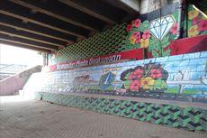 Kolong Tol Pesanggrahan Dipercantik dengan Mural