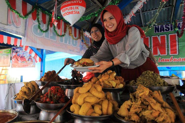 Penjual Nasi Kapau.