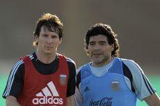 Sampai Kapan Pun, Messi Takkan Bisa Lebih Baik dari Maradona...