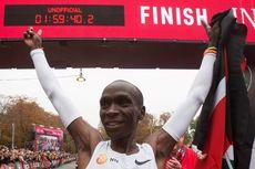 Eliud Kipchoge, Manusia Pertama yang Tuntaskan Maraton di Bawah 2 Jam