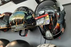 Jangan Sembarangan Semprot Cairan Antiembun pada Kaca Helm