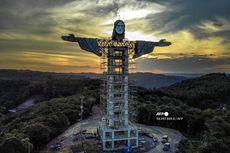 Brasil Bangun Patung Kristus Raksasa Baru, Lebih Tinggi dari Patung Rio de Janeiro