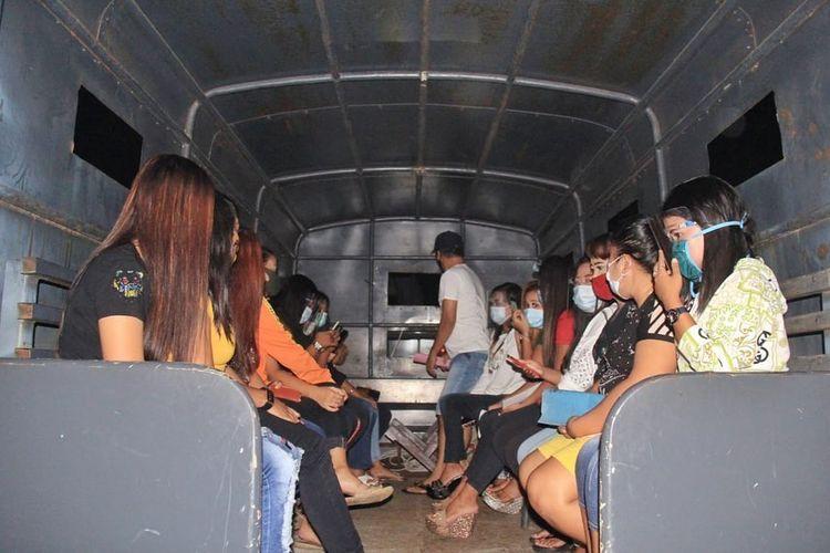 Pekerja hiburan malam di Pangkalpinang, Sabtu (26/9/2020