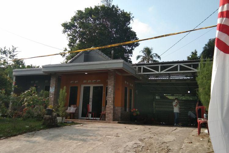 Rumah Tuti Suhartini dan Amalia Mustika Ratu, korban pembunuhan di Kampung Ciseuti Desa Jalan Cagak Kecamatan Jalan Cagak Kabupaten Subang.