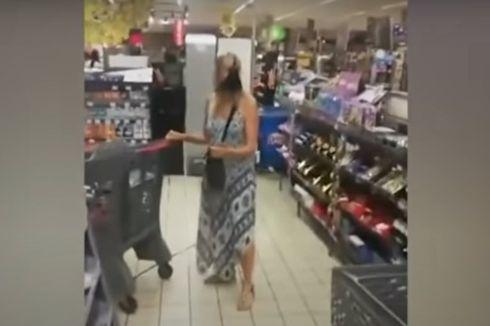 Ditegur Langgar Aturan Covid-19, Wanita Ini Pakai Celana Dalamnya Jadi Masker