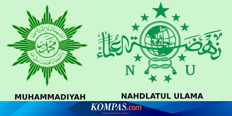 Ilustrasi Muhammadiyah dan NU.