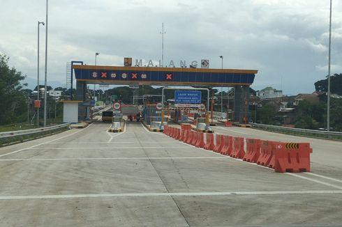 Jelang Larangan Mudik, Polresta Malang Jaga Ketat Exit Tol Madyopuro