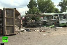 Truk Tabrak Bus Penumpang di Rusia, 18 Tewas