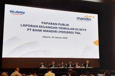 Bank Mandiri Bukukan Laba Rp 27,5 Triliun Sepanjang 2019