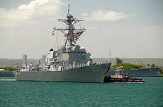 Rusia Cegah Kapal Perusak AS Masuki Perairannya