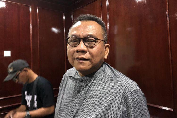Wakil Ketua DPRD DKI Jakarta Mohamad Taufik di Gedung DPRD DKI Jakarta, Jalan Kebon Sirih, Senin (29/1/2018).