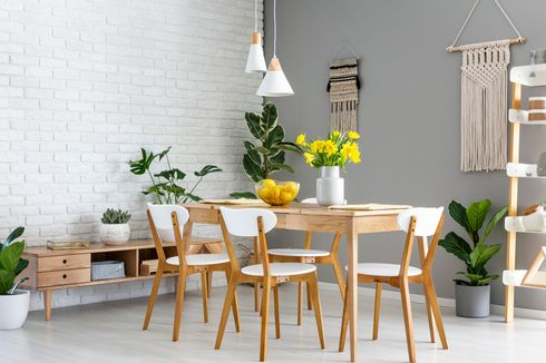 8 Pilihan Warna Apik untuk Dinding Ruang Makan