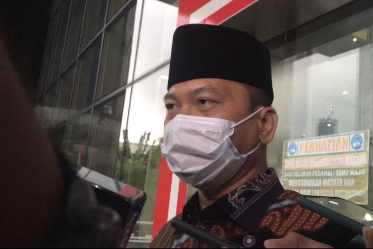 Ketua Komisi VIII DPR RI Yandri Susanto di Gedung KPK, Selasa (30/3/2021).