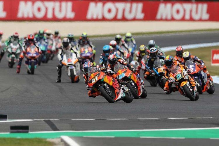 Ilustrasi MotoGP Australia