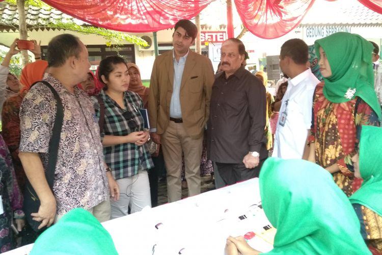 Delegasi Pakistan kunjungi RPTRA Cililitan, Jakarta Timur, Kamis (19/4/2018)