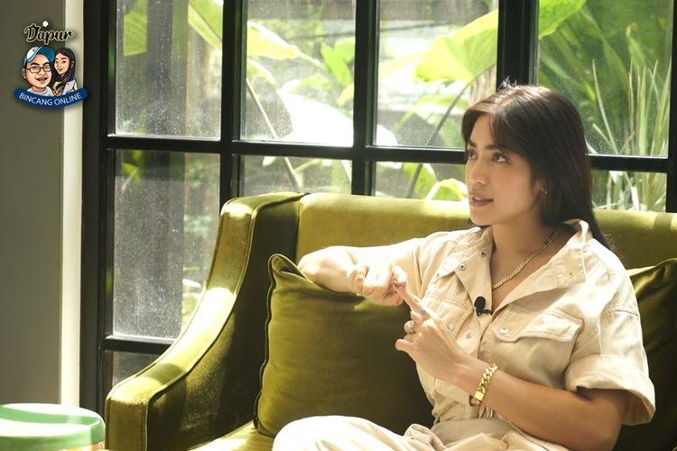 Artis peran Jessica Iskandar atau yang akrab disapa Jedar.