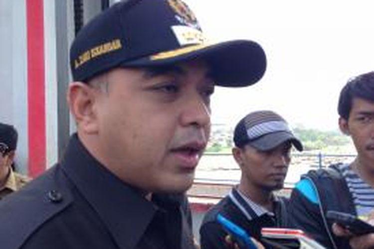 Bupati Tangerang Ahmed Zaki Iskandar.
