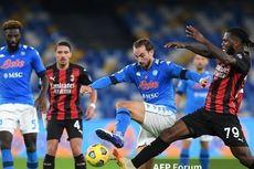 Prediksi Line-up AC Milan Vs Napoli, Rossoneri Masih Tanpa Ibrahimovic