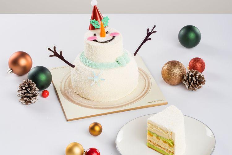 Cake edisi liburan dari TOUS les JOURS.