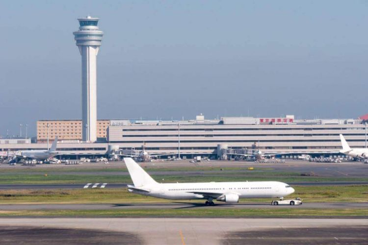 ILUSTRASI - Bandara Haneda