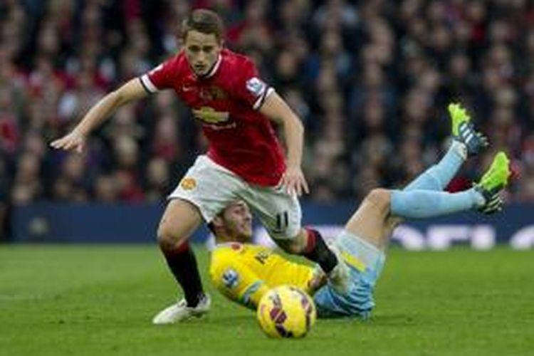 Gelandang Manchester United asal Belgia, Adnan Januzaj.