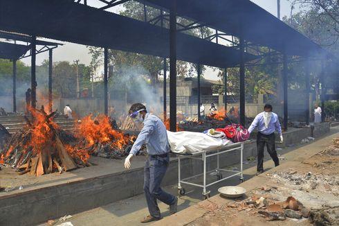 India Laporkan Angka Kematian Harian Covid-19 Tertinggi Dunia, 6.148 Kasus