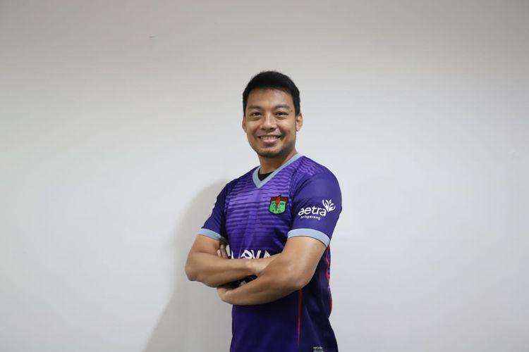 Hamka Hamzah resmi bergabung dengan Persita Tangerang.