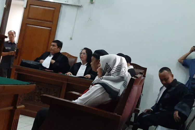 Pengadilan Negeri Jakarta Selatan menggelar sidang lanjutan kasus pembunuhan berencana oleh terdakwa Aulia Kesuma (AK), Selasa (11/2/2020).  Jaksa penuntut umum (JPU) menghadirkan tiga terdakwa yakni asisten rumah tangga Aulia, Karsini, Rody, dan Supriyanto.
