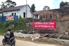 Diduga Penyebab Longsor, Warga Samarinda Tutup Pembangunan Perumahan