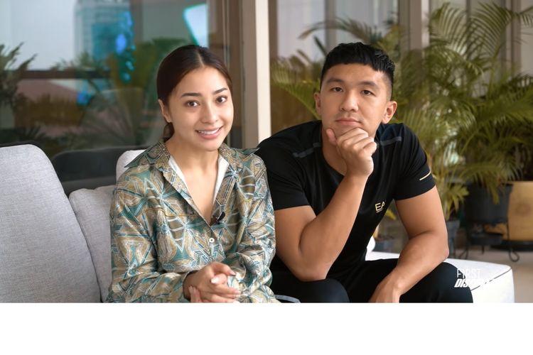 Pasangan Nikita Willy dan Indra Priawan akhirnya bisa merasakan kenikmatan berolahraga bersama.