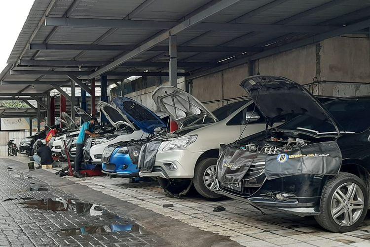 Bengkel uji emisi kendaraan