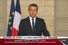 Presiden Perancis Kritik Mundurnya AS dari Kesepakatan Iklim Paris