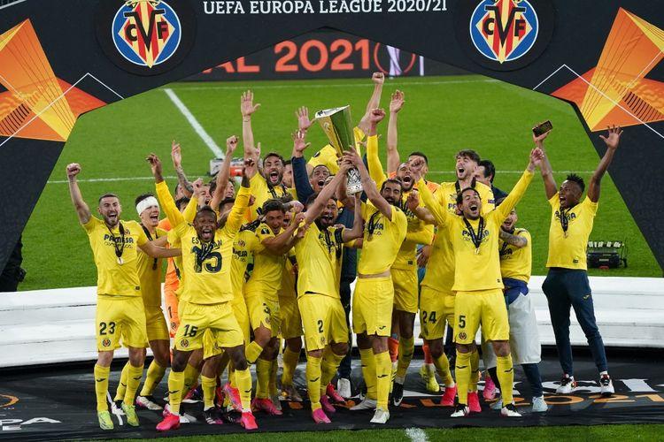 Villarreal mengalahkan Manchester United di partai final Liga Europa, Kamis (27/5/2021) dini hari WIB.