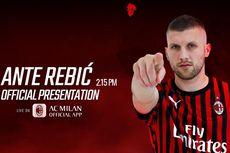 Diperkenalkan sebagai Pemain Baru, Rebic Langsung Siap Bela AC Milan