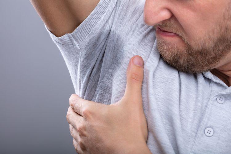 Ilustrasi bau badan