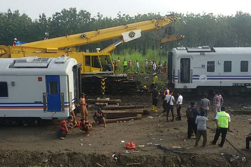 Setelah Kecelakaan Kereta Api Sancaka di Ngawi, Jalur Kini Bisa Dilewati