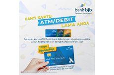 Dukung Transaksi Aman, Bank BJB Imbau Nasabah untuk Tukar Kartu ATM Lama