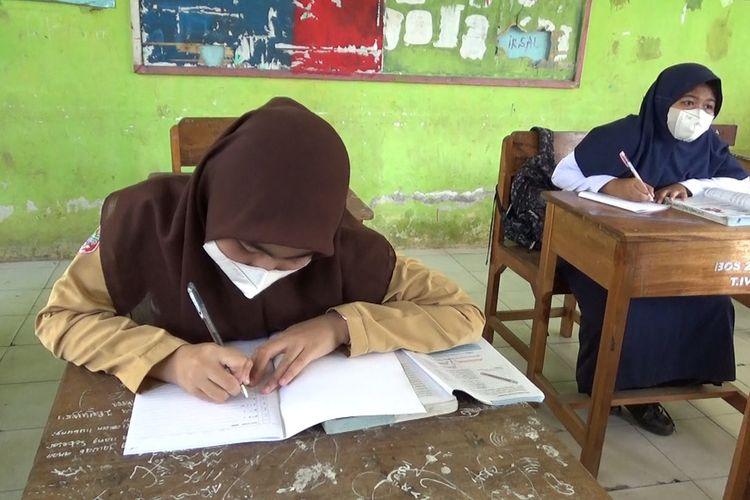 SULSEL (10082021K62-12) Pembelajaran Tatap Muka di Kabupaten Pinrang Mulai Digelar