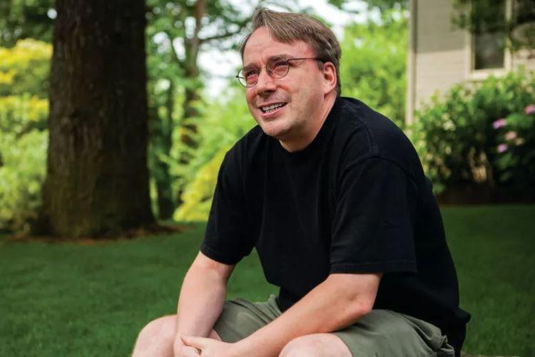 Pendiri Linux, Linus Torvalds.