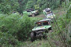 Belasan Mobil dan Motor Eksplorasi Dairi, Sidikalang Sumatera Utara