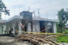 Menara Masjid Gedung Dakwah NU Sukabumi Ambruk, 2 Pekerja Tewas