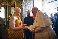 Berkunjung ke Thailand, Paus Fransiskus Temui Pemimpin Tertinggi Agama Buddha