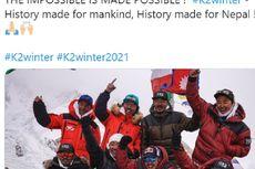 10 Pendaki Nepal Ukir Sejarah dengan Taklukkan Gunung Tertinggi Kedua di Dunia