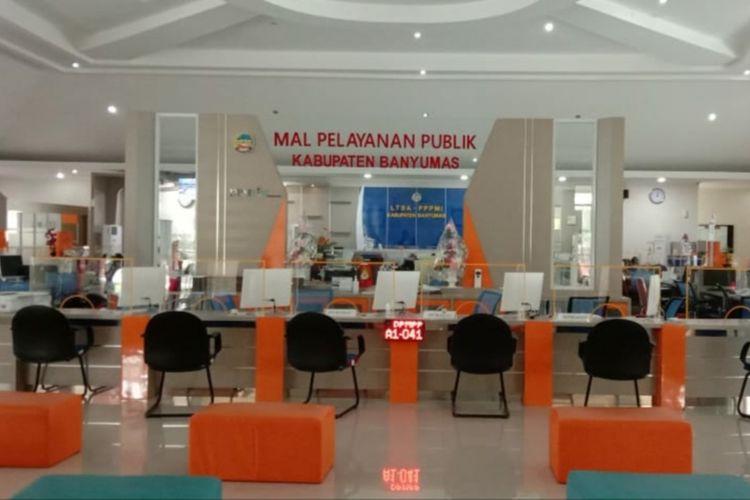 Mal Palayanan Publik (MPP) Banyumas, Jawa Tengah.